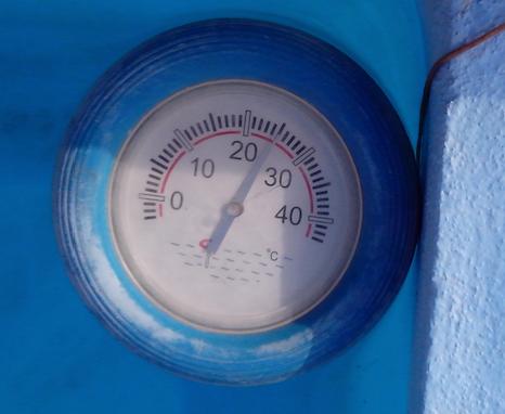 045 La température de l'eau